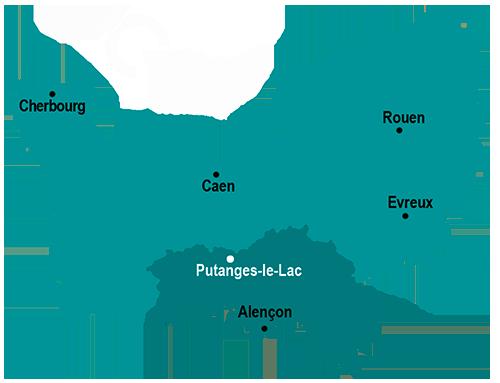 Val d'Orne - Putanges-le-Lac